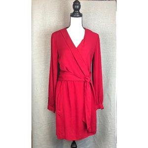 Diane Von Furstenberg Millicent Lily Crepe Dress